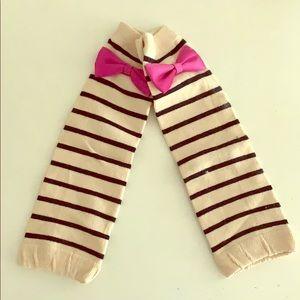 Custom made baby leg warmers